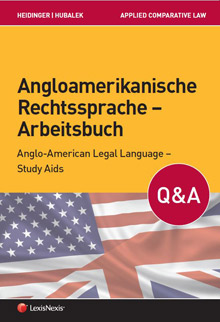 Angloamerikanische Rechtssprache - Arbeitsbuch