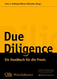 Due Diligence. Ein Handbuch für die Praxis.